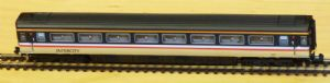 Dapol 2P-005-221 Mark 3 1st Class, InterCity Swallow, Buffers (Loco-hauled), No.11065